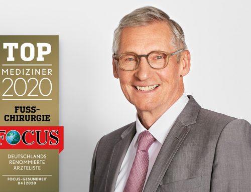 Dr. Kinast zählt 2020 zu den Focus Top-Medizinern Deutschlands